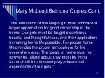 mary mcleod bethune quotes cont22