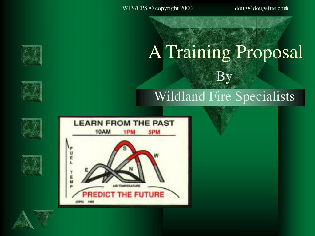 a training proposal l.