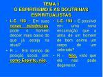 tema 1 o espiritismo e as doutrinas espiritualistas14