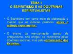 tema 1 o espiritismo e as doutrinas espiritualistas5