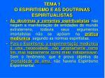 tema 1 o espiritismo e as doutrinas espiritualistas9