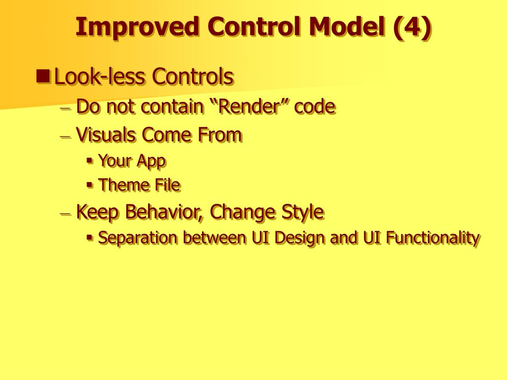Improved Control Model (4)
