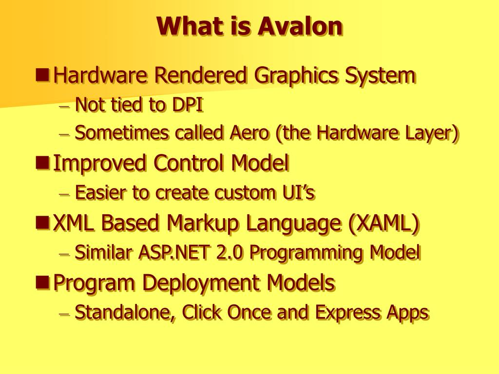 What is Avalon