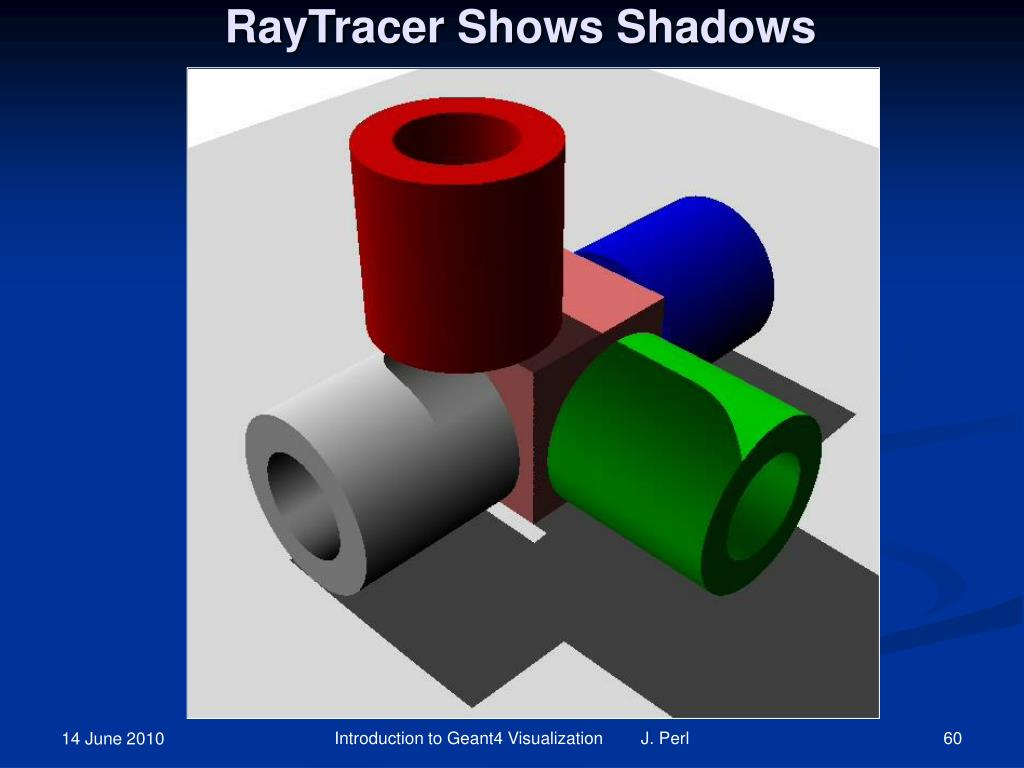 RayTracer Shows Shadows