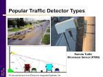 popular traffic detector types15
