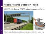 popular traffic detector types18