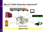 why is traffic detection important11