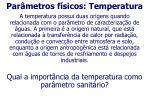 par metros f sicos temperatura