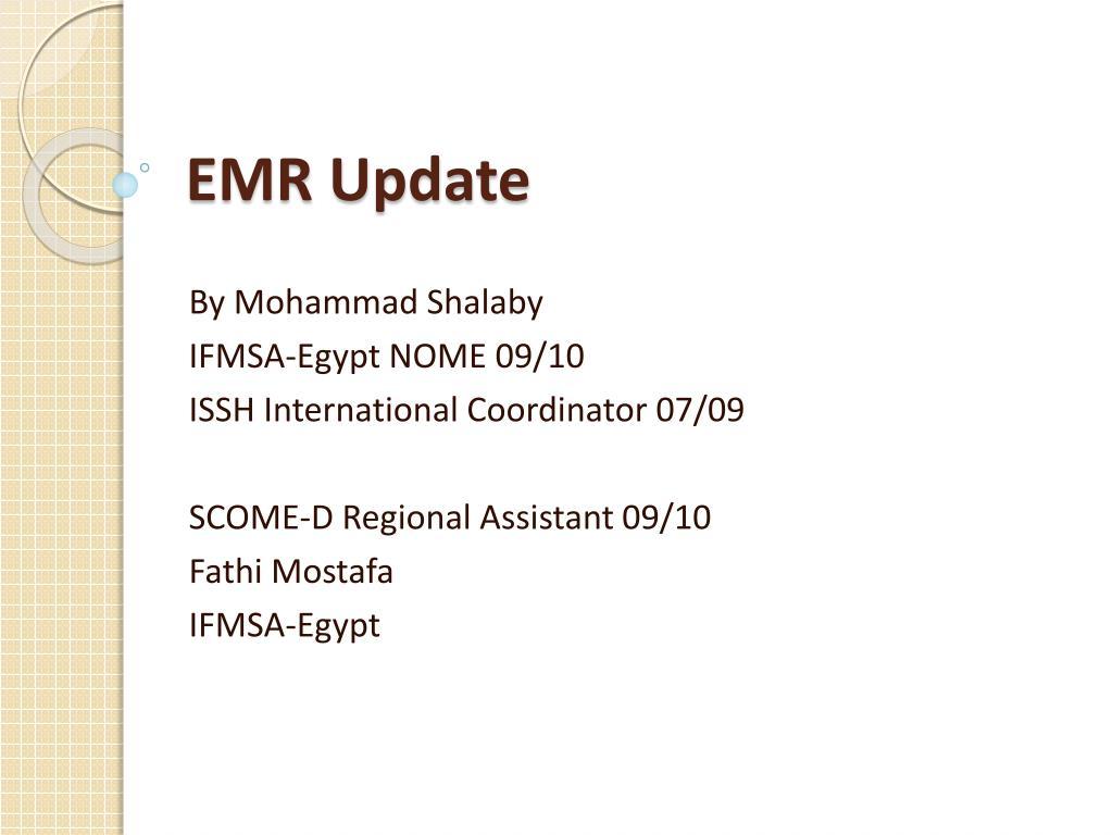 emr update l.