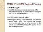 mm09 1 st scome regional meeting19