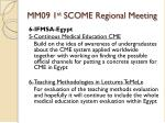 mm09 1 st scome regional meeting20