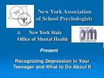 new york association of school psychologists