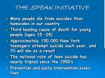 the speak initiative