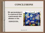 conclusions36