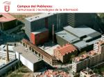 campus del poblenou comunicaci i tecnologies de la informaci