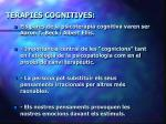 ter pies cognitives