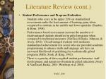 literature review cont10