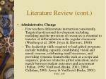 literature review cont11
