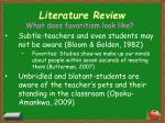 literature review6