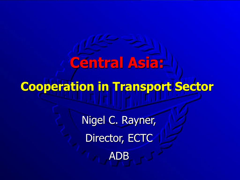 central asia cooperation in transport sector l.