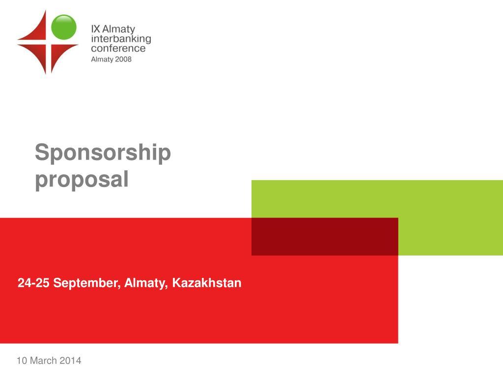 sponsorship proposal l.