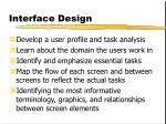 interface design9