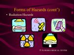 forms of hazards cont