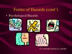 forms of hazards cont11