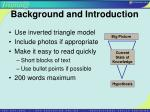background and introduction10