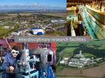 interdisciplinary research facilities