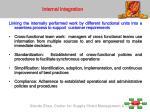 internal integration