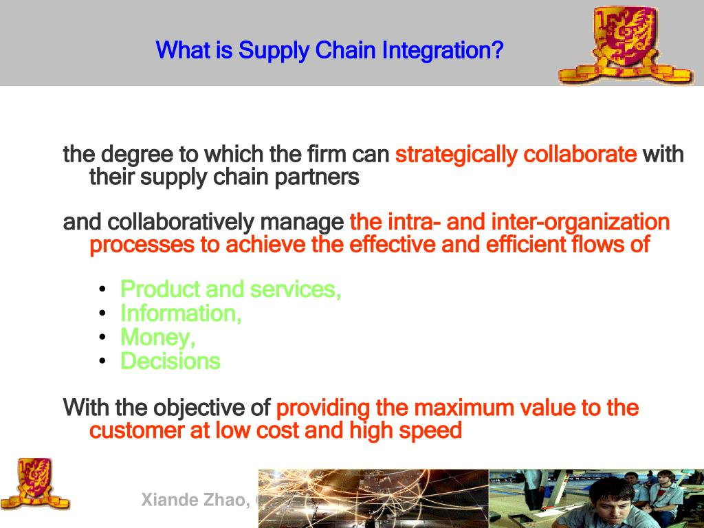 What is Supply Chain I