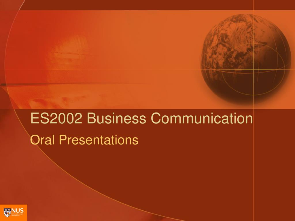 es2002 business communication l.