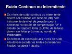 ru do cont nuo ou intermitente14