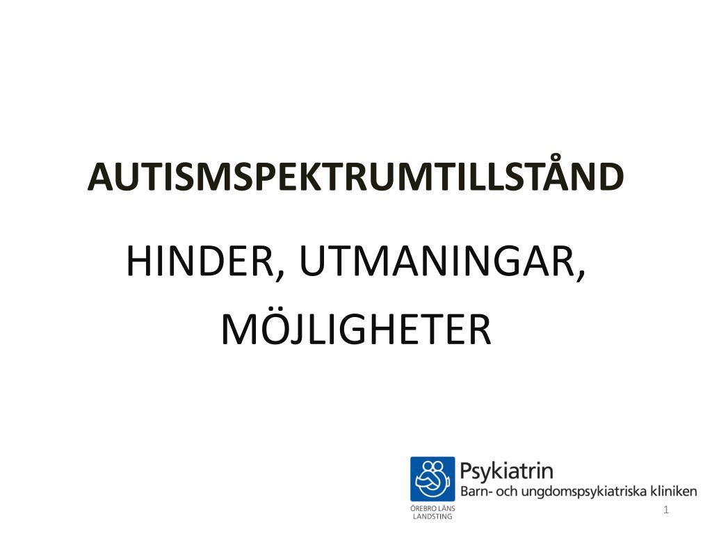 autismspektrumtillst nd l.