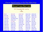 choose state counties to get that menu page