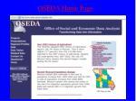 oseda home page