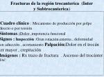 fracturas de la regi n trocanterica inter y subtrocanterica
