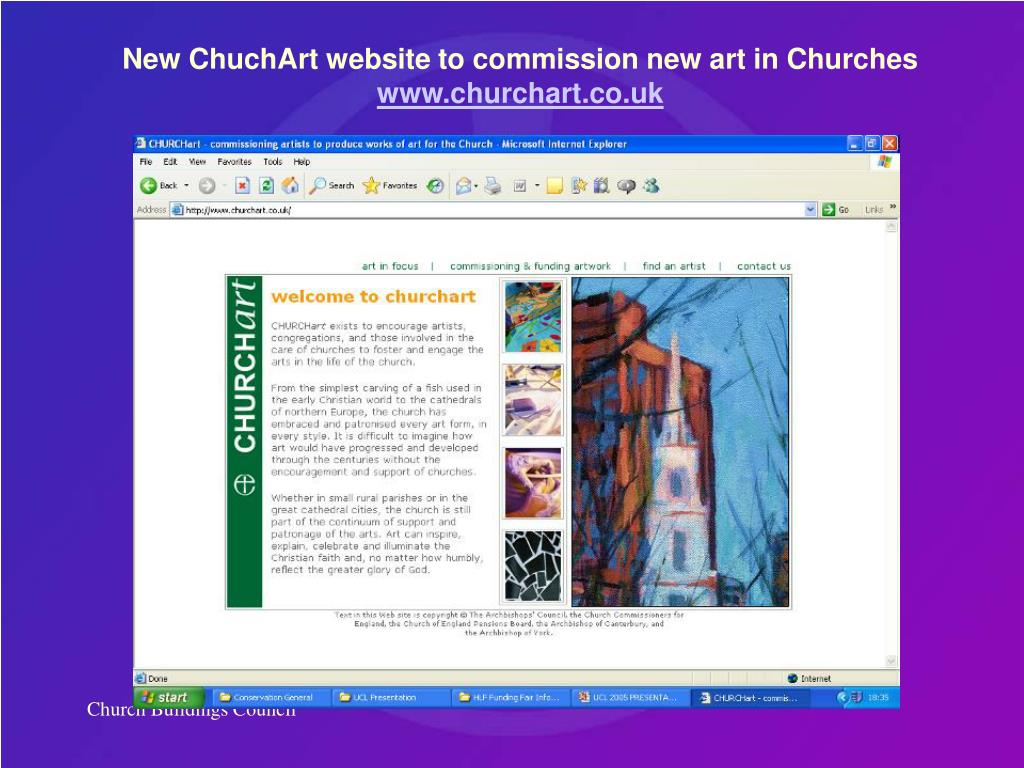 New ChuchArt website to commission new art in Churches