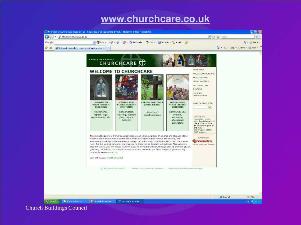 www.churchcare.co.uk
