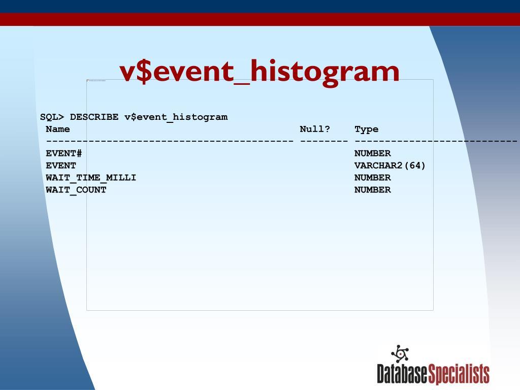 v$event_histogram