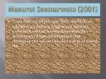 menurut soemarwoto 2001