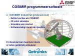 cosimir programmeersoftware
