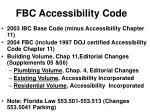 fbc accessibility code