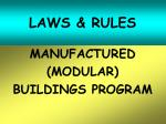 laws rules