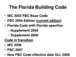 the florida building code
