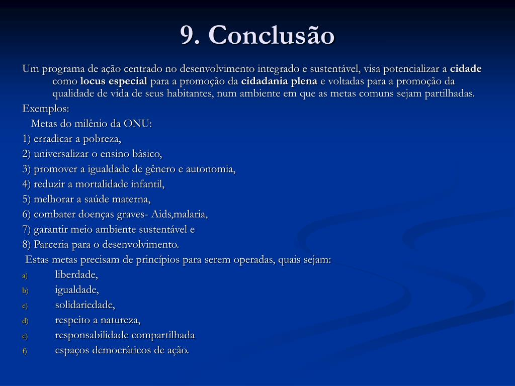 9. Conclusão