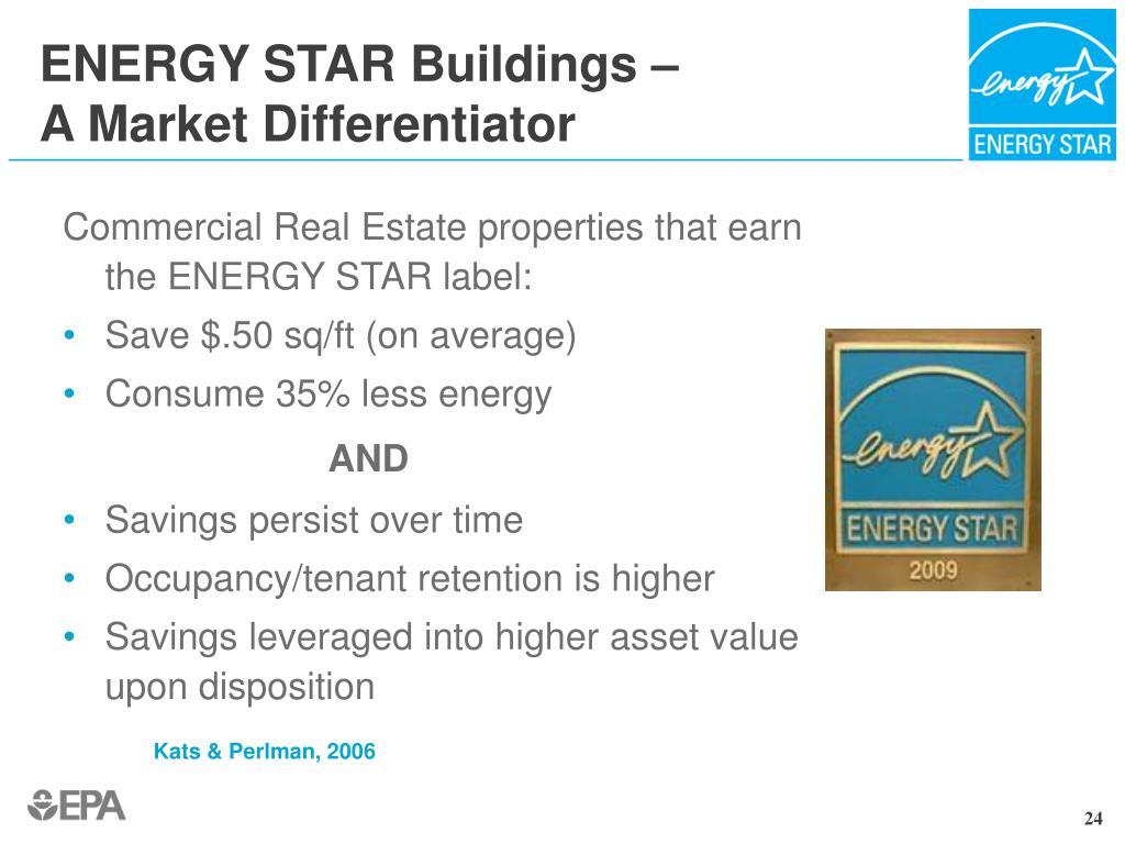 ENERGY STAR Buildings –
