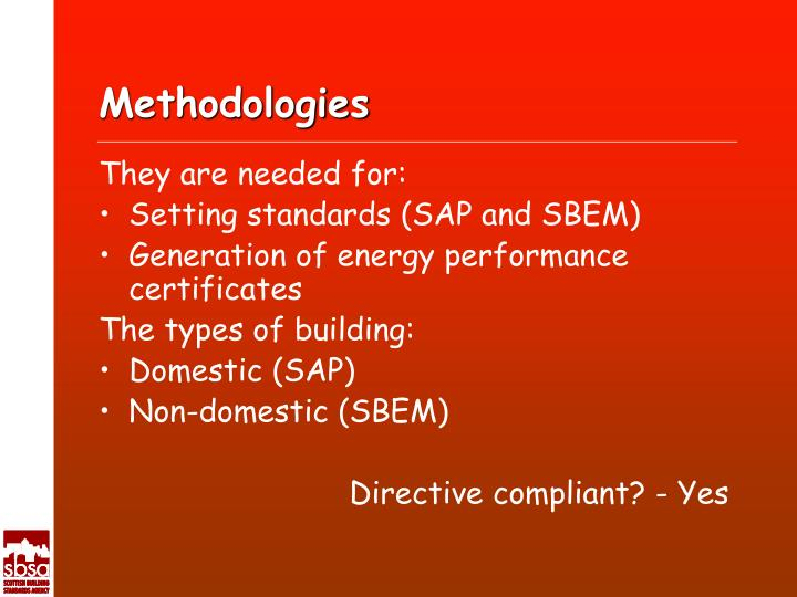 Methodologies