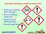 jenis kimia berbahaya untuk kesehatan 5 9